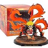 Figura de acción de una pieza Uzumaki Naruto Cambia en Bestia desde la cola Kurama Kyubi Juguetes Modelo Anime 19 cm Figura de acción Anime Personajes Souvenir de colección Ornamento