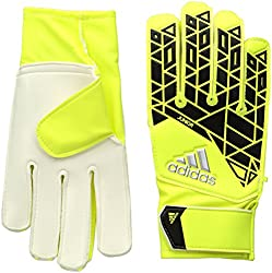 Yellow Adidas Performance ACE Fingersave Goalie gloves