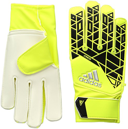 Adidas Jr Ace Goalkeeper Gloves Safety Yellow/Black - 4 -  636
