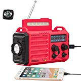 Best Sw Portable Radios - 5-Way Powered Weather Radio for Household Outdoor Emergency Review