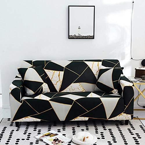Funda de sofá de 2-3 plazas Funda de sofá de Tela elástica fácil de Usar Funda Protectora de sofá Funda de Perro Antideslizante Lavable