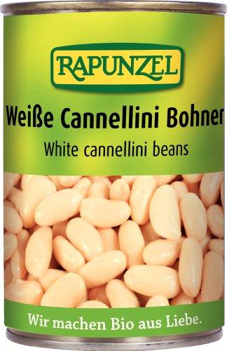 Rapunzel Weiße Cannellini Bohnen in der Dose, 3er Pack (3 x 400 g) - Bio