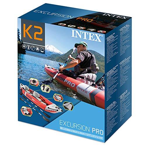 INTEX(インテックス)カヤックボートエクスクルージョンプロカヤック384×94×46cm68309[日本正規品]