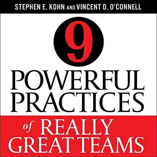 9 Powerful Practices of Really Great Teams audiobook cover art