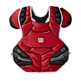 Best Chest Protectors - Wilson Adult C1K NOCSAE Chest Protector - Scarlet Review