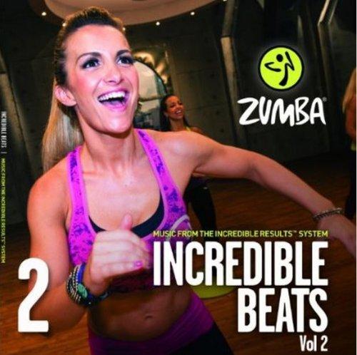 Zumba Dance Fitness Incredible Beats Music CD 2