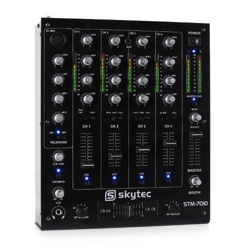 Skytec STM-7010 Mixer DJ 4 canali USB MP3 EQ
