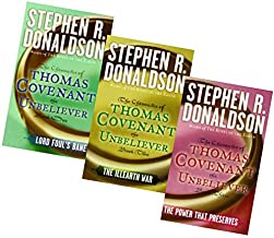 The Chronicles of Thomas Covenant The Unbeliever Series (3 Vol. Set; Lord Foul's Bane; The Illearth War; the Power That Pr...