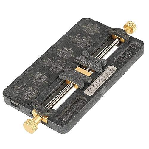 FYYONG universal Fixture de alta temperatura de teléfono PCB Chip IC Placa base Reparación Junta plantilla titular mantenimiento de moldes de herramientas for la soldadura de la viruta Plataforma de P