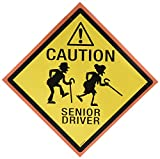 """Senior Driver"" Car Magnet, Party Favor"