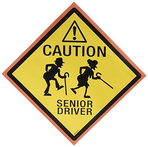 """Senior Driver"" Car Magnet"