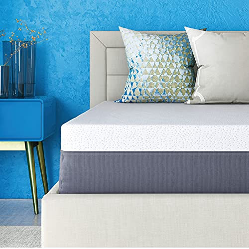 Classic Brands Cool Gel Ventilated Memory Foam 12-Inch Mattress | CertiPUR-US Certified | Bed-in-a-Box, Twin XL