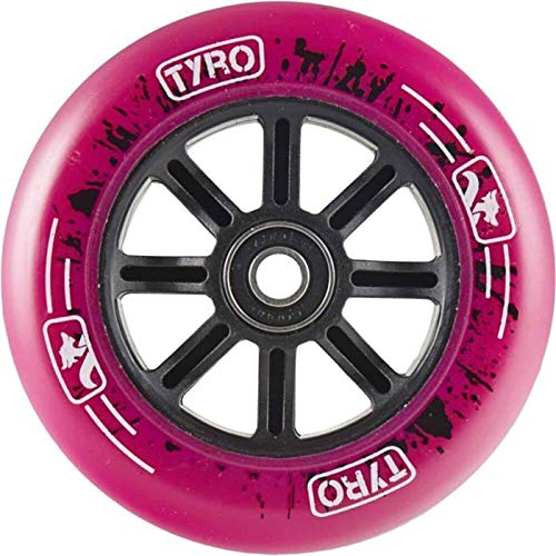 LONG WAY SCOOTER Longway Tyro Nylon Núcleo Rueda Patinete Freestyle Rosa 110 mm