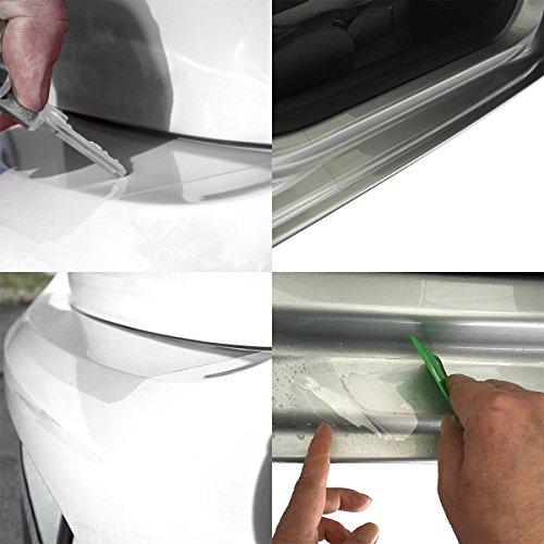Set de films tuneon Transparent pour bords de charge et barres entrée pour Passat B6 Variant