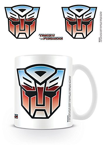 Transformers Autobot símbolo Taza de cerámica, Multicolor