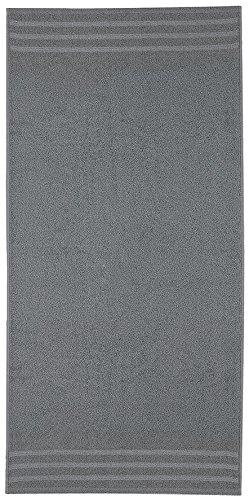 Kleine Wolke 3003912201 Royal Serviette Invité Coton Gris 30 x 50 cm