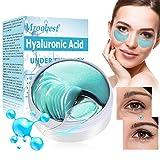 Eye Patch, Maschera Per Gli Occhi, Eye Mask, Maschera per gli occhi idratante all'acido ialuronico, Rafforzamento delle rughe, Rimozione di borse e occhiaie, 60 pezzi