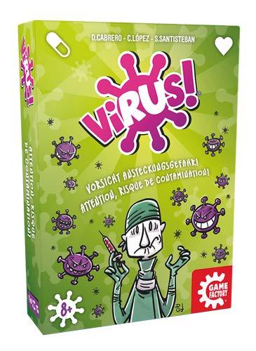 GAMEFACTORY 646239 Virus! Kartenspiel