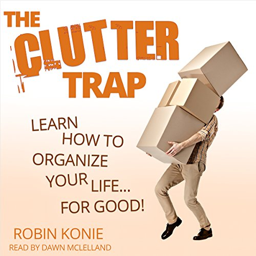 The Clutter Trap audiobook cover art