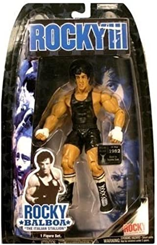 Rocky III Rocky (schwarz Trunks) Action Figure by Jakks