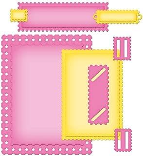 Spellbinders S5-134 Nestabilities Card Creator A2 Fancy Postage Stamps Die Templates