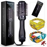 Brosse Soufflante, Brosse Chauffante brushing professionnel comme chez le coiffeur, Brosse Lissante électrique cheveux One Step, Appareils et Outils de coiffure