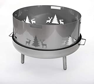 Czaja Stanzteile Funkenschutz Wild für alle Feuerschalen Durchmesser80cm 80cm V2A