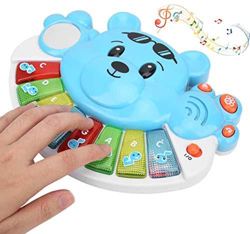 CanKun Teclado Piano Niños, Piano Educativo Bebés Juguete
