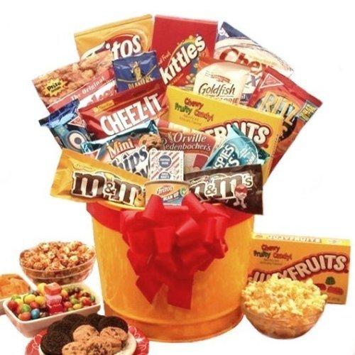 Junk Food Snack Gift Basket