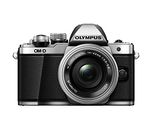 "Olympus E-M10 Mark-II - Cámara Evil de 16.1 MP (Pantalla 3"", estabilizador óptico, vídeo Full HD, WiFi, Kit cámara con Objetivo 14-42mm EZ Zoom), Plata"
