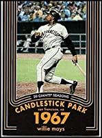 2020 Topps Heritage Baseball 20 Giants Seasons #16 Willie Mays San Francisco Giants Official MLB Trading Card