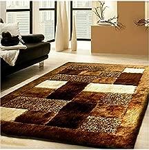 Selective Premium Shaggy Living Room Carpet (5 x 7 Feet)