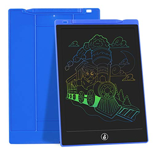 JefDiee LCD Writing Tablet Drawing Board, 11-Inch Colorful Screen Electronic Drawing Pad for Kids Doodle Board Writing Pad Gifts for Kids at Home, School and Office (Blue)