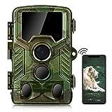 COOLIFE WiFi Bluetooth Cámaras de Caza 4K 32 MP...