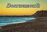 YCCC 1000 Piezas Jigsaw Rompecabezas para niños La Playa de Hengtbury Head, Bournemouth, Inglaterra niños y Adultos decoración Rompecabezas educativos