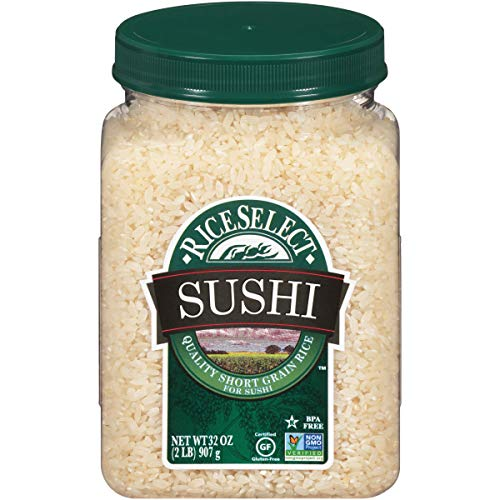 RiceSelect Sushi Rice, 32-Ounce Jars, 4-Count