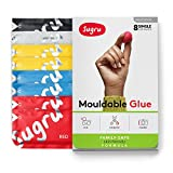 Sugru Moldable Glue - Family-Safe - All-Purpose Adhesive, Suitable for Children - Holds up to 4.4 lb - Classic Colors 8-Pack