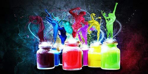 N / A Abstrakte Aquarellmalerei Flasche Leinwand Malstil Lieber verwendet für Wohnzimmer Dekoration Malerei Wandkunst Bild Rahmenlos Rahmenlos 50x100cm