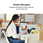 Google Nest Wifi - AC2200 - Mesh WiFi System - Wifi Router - 2200 Sq Ft Coverage- 1 pack 11 This product includes two router units. Nest Wifi is a scalable and flexible Wi-Fi system These Nest Wifi devices work together to blanket your whole home in fast, reliable Wi-Fi and eliminate buffering in every room – with coverage up to 2200 square feet. One Wi-Fi router plugs into your internet provider's modem to create your Wi-Fi network The other extends the wireless network and keeps your connection fast to devices in every room. For more coverage, add Nest Wifi routers or points to your system.