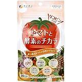 ファイン トマトと酵素のチカラ 30日分(90粒入) リコピン コレウスフォルスコリエキス末 金時しょうが粉末 黒胡椒抽出物 配合