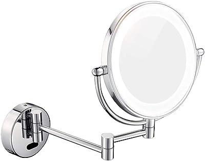 Amazon Com Miusco Lighted Magnifying Double Side Adjustable Makeup