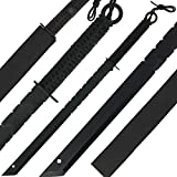 G8DS® Black Machete Paracord Outdoor Survival Camping