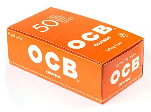 OCB - Papel de liar OCB Orange - Papeles cortos - 50librillos