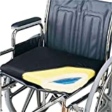 Skil-Care Econo-Gel Vinyl Wheelchair Cushion, 18' x 16' x 2'