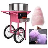 Ridgeyard 1030W 2 ruote uso commerciale Cotton Candy Fairy Floss Maker macchina carrello casa compleanno cucina partito Snack fai da te