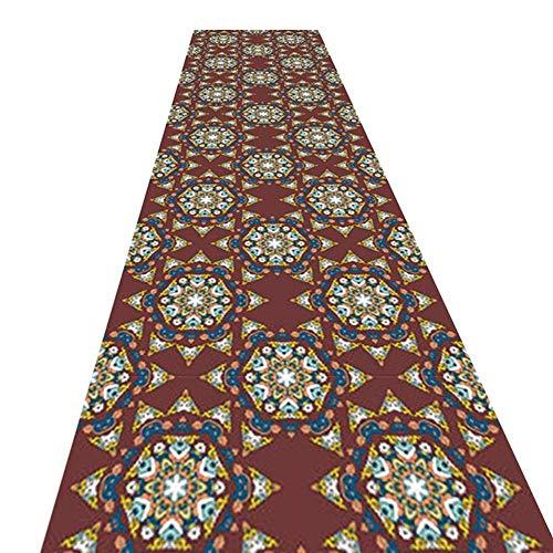 WCS Runner Carpet Pasillo Pasillo Fibra química Antifouling Portátil, Wedding Runner - Ceremony Aisle - VIP Carpet - Carpeta para Eventos, Disponible en Varios tamaños (Size : 0.8 x 7.5m)