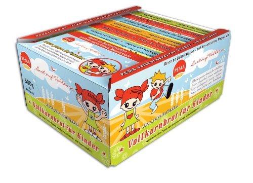 PEMA Brotbox Vollkornbrot für Kinder, 10 x 50 g