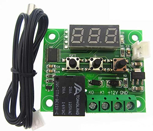 Termostato/Controle Temperatura W1209 Arduino Chocadeira