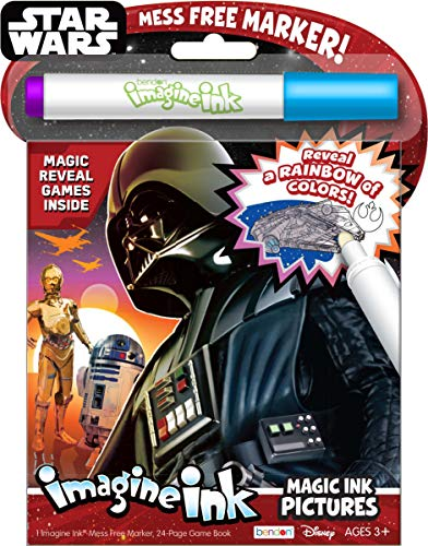 Bendon 40952 Star Wars Saga Imagine Ink Magic Ink Pictures