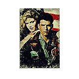 Top Gun Maverick Poster, dekoratives Gemälde, Leinwand,